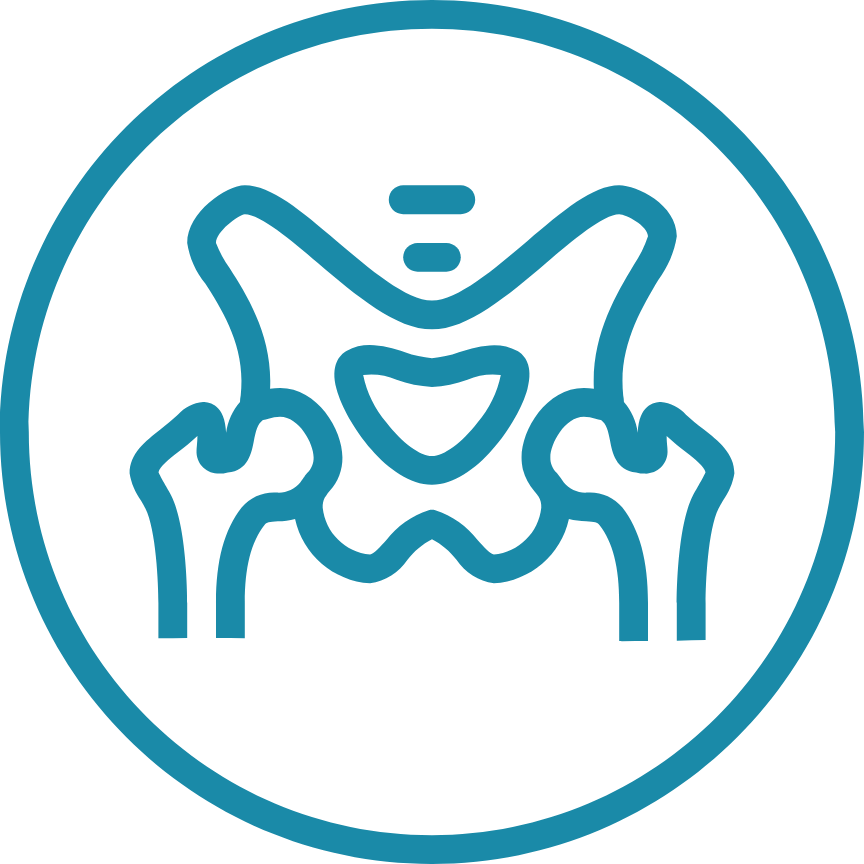 Pelvic floor conditioning icon online fitness@2x